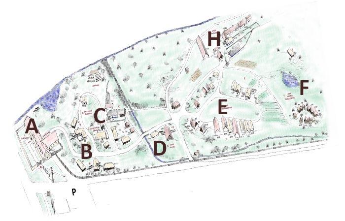 mapa skanzenu